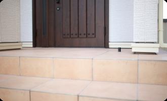 玄関やタイル